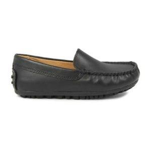 Umi Black Slip-On Loafer